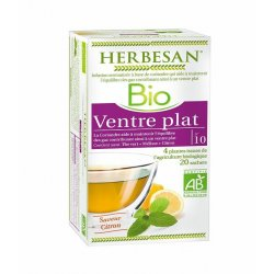 HERBESAN - INFUSION VENTRE PLAT - SUPER DIET