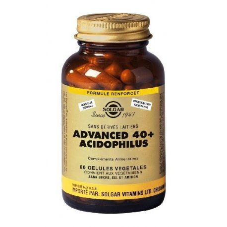 SOLGAR - ADVANCED 40+ ACIDOPHILUS 60